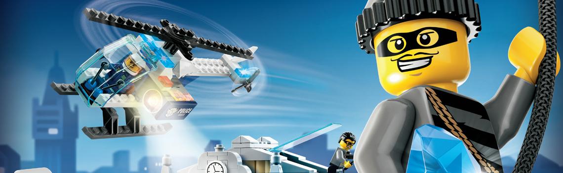 LEGO City hasiči