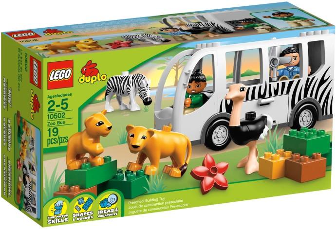 LEGO DUPLO 10502 Zoo autobus