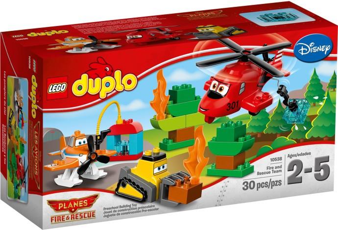 LEGO Duplo 10538 Hasiči a záchranáři
