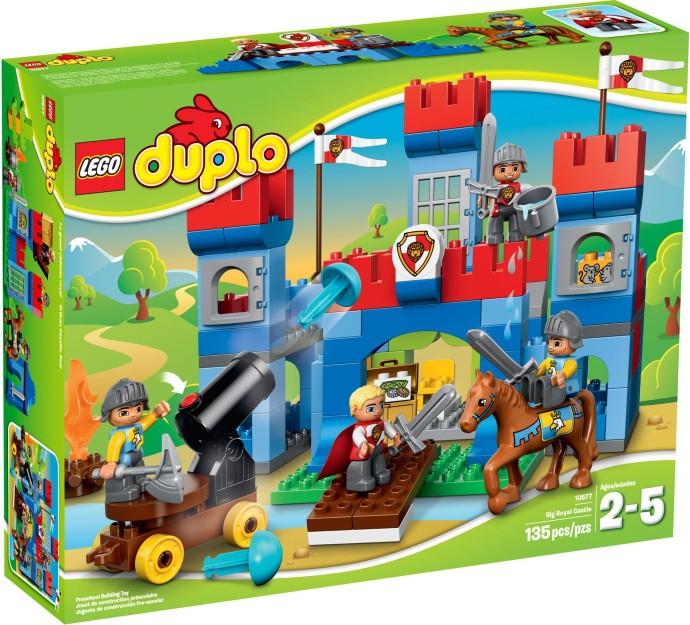 LEGO Duplo 10577 Velký královský hrad