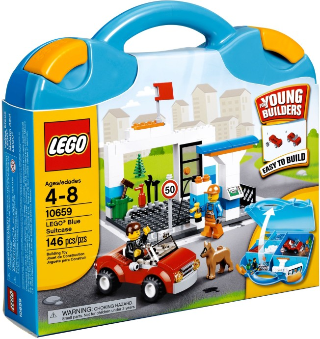 LEGO Creator 10659 Modrý kufřík