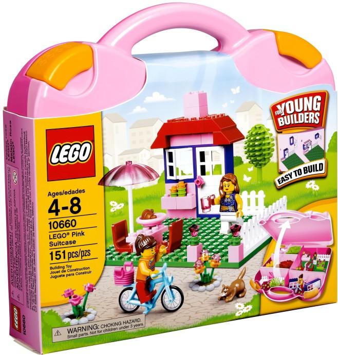 LEGO Creator 10660 Růžový kufřík