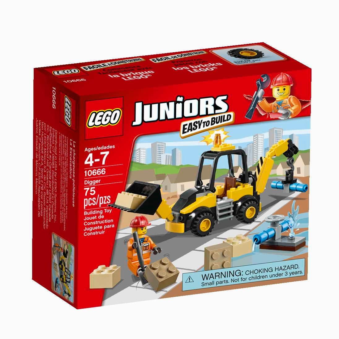LEGO Juniors 10666 Bagr