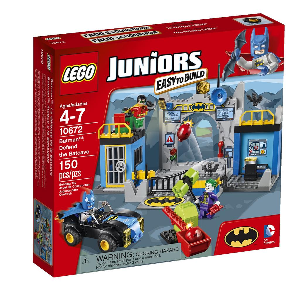 LEGO Juniors 10672 Batmanova obranná jeskyně