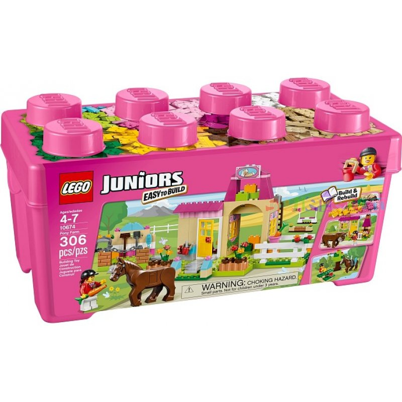 LEGO Juniors 10674 Farma s poníkem