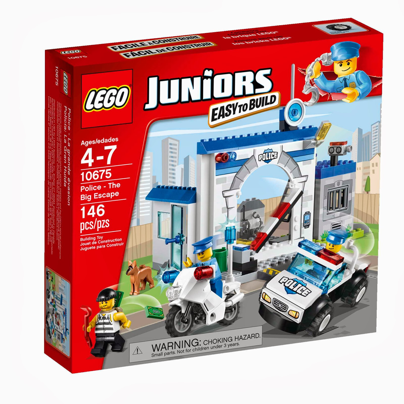 LEGO Juniors 10675 Policie-Velký útěk