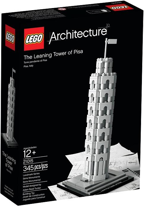 Lego 21015 Architecture Šikmá věž v Pise