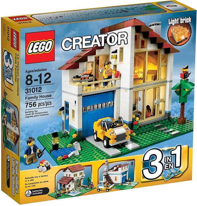 LEGO Creator 31012 Rodinný domek