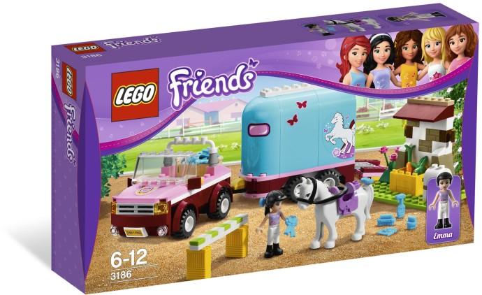 Lego 3186 Friends Emmin přívěs pro koně