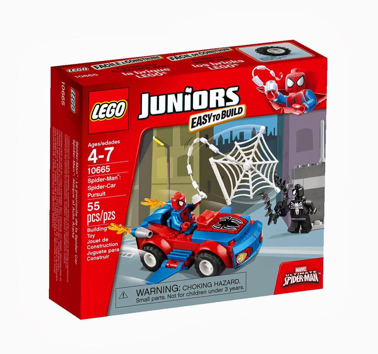 LEGO Juniors 10665 Spidermanovo pronásledovací auto