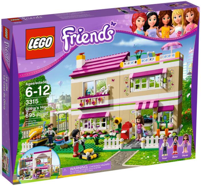 Lego 3315 Friends Olivia a její dům
