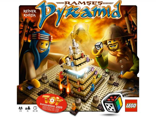 Lego hry 3843 - Ramsesova pyramida