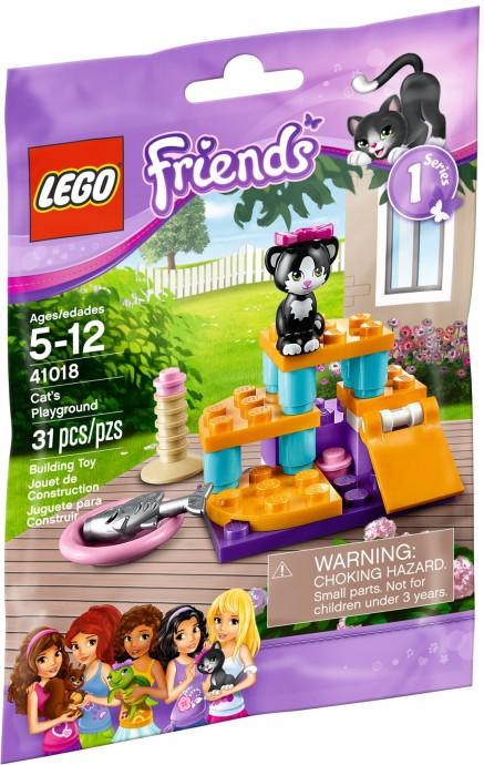 LEGO Friends 41018 Hřiště pro kočky