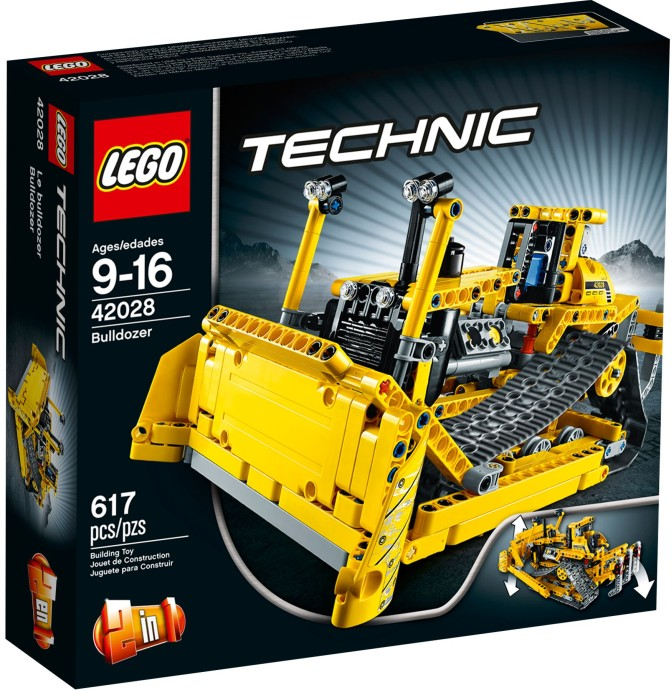 LEGO 42028 Technic Buldozer