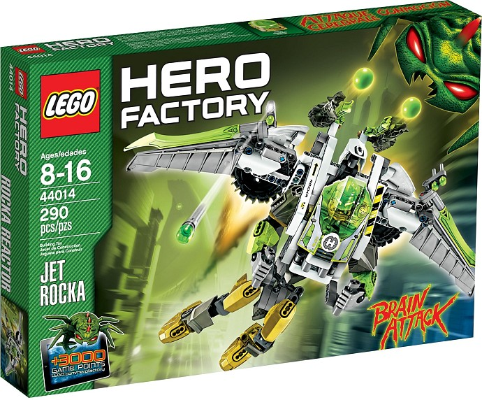 LEGO Hero Factory 44014 TRYSKO - ROCKA