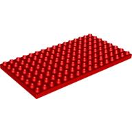 Duplo® podložka 16 x 8 červená