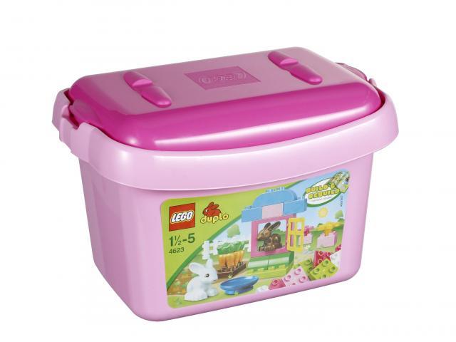 Lego Duplo 4623 Růžový box s kostkami