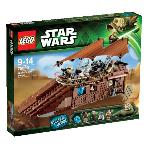 Lego 75020 Star Wars Jabbův nákladní člun