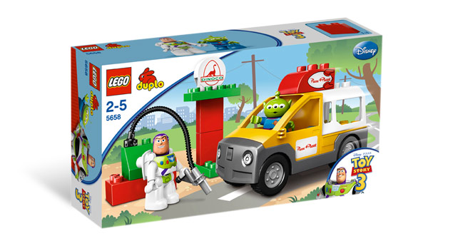 Lego Duplo 5658 - Dodávka Pizza Planet