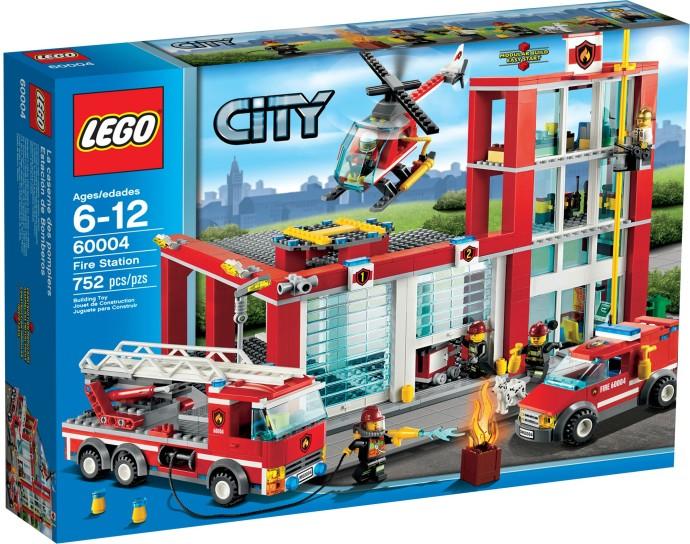 LEGO City 60004 Hasičská stanice