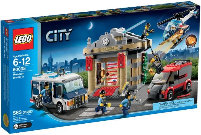 LEGO City 60008 Krádež v muzeu