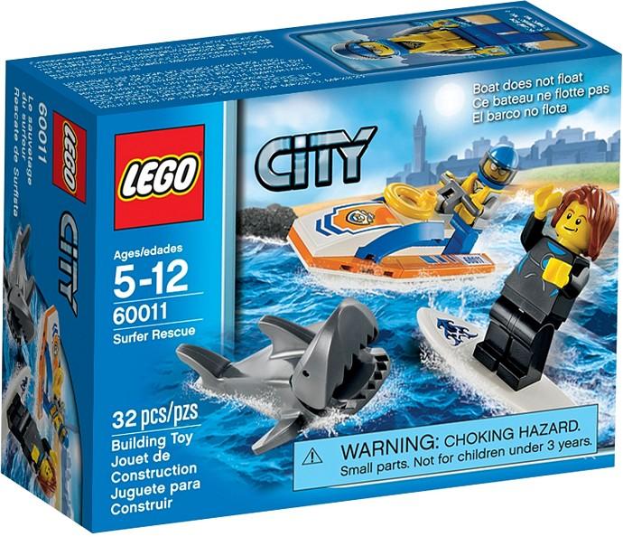 Lego CITY 60011 Záchrana surfaře