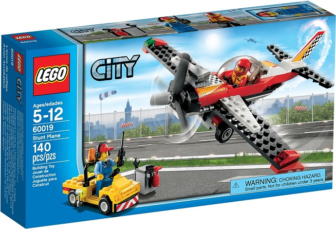 Lego CITY 60019 Kaskadérské letadlo