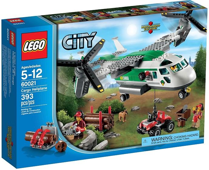 Lego CITY 60021 Nákladní letadlo
