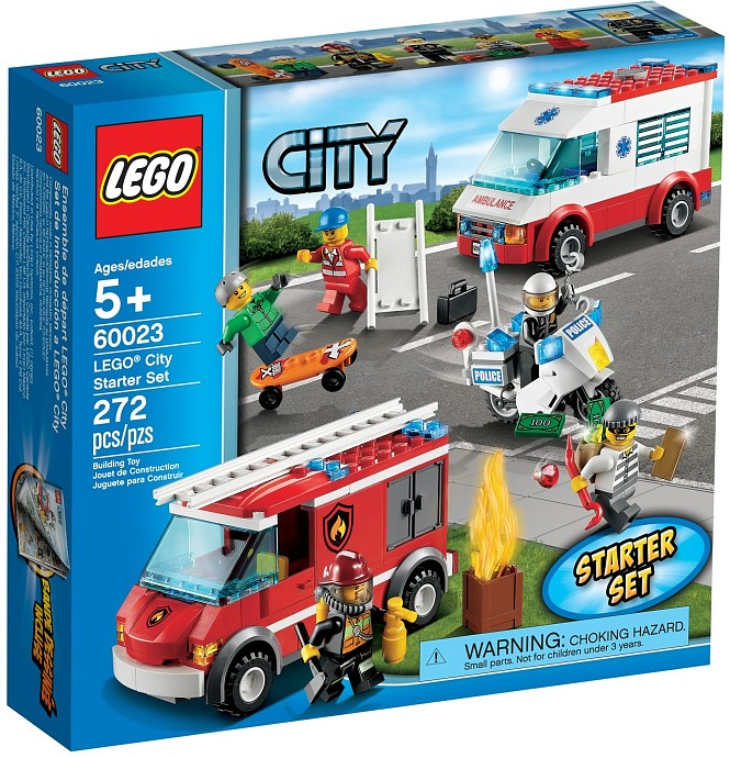 Lego CITY 60023 Startovací sada LEGO City