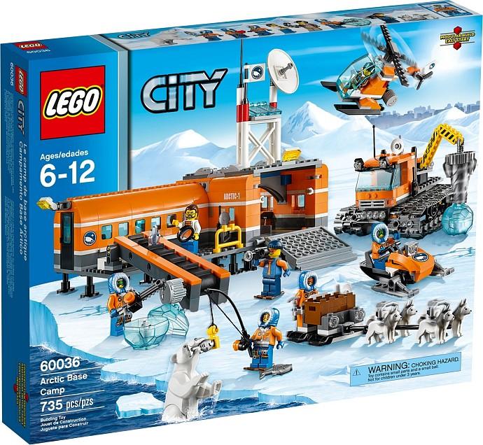 LEGO City 60036 Polární základní tábor
