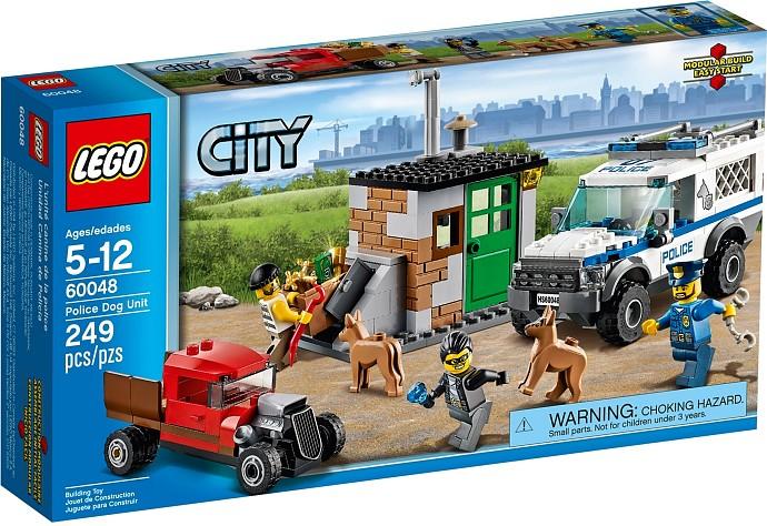 LEGO City 60048 - Jednotka s policejními psy