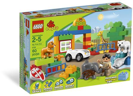 Lego 6136 DUPLO Moje první ZOO