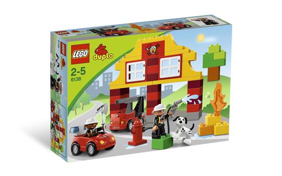 Lego 6138 DUPLO Moje první hasičská stanice