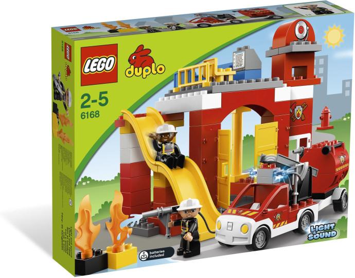 Lego 6168 Duplo Hasičská stanice