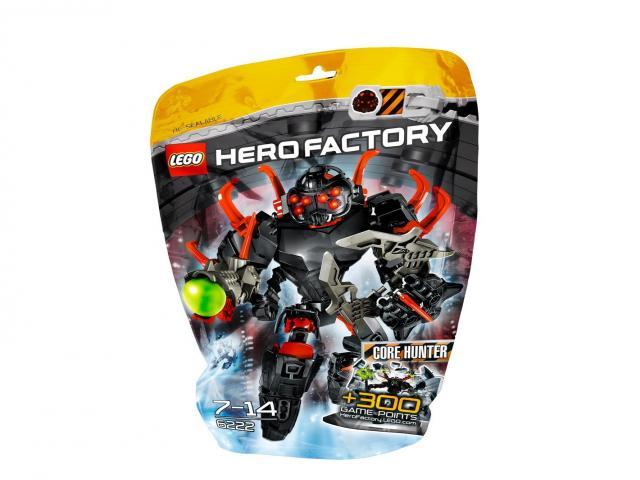 Lego 6222 Hero Factory Jádrožrout