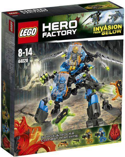 LEGO Hero Factory 44028 Bojový stroj Surge a Rocka