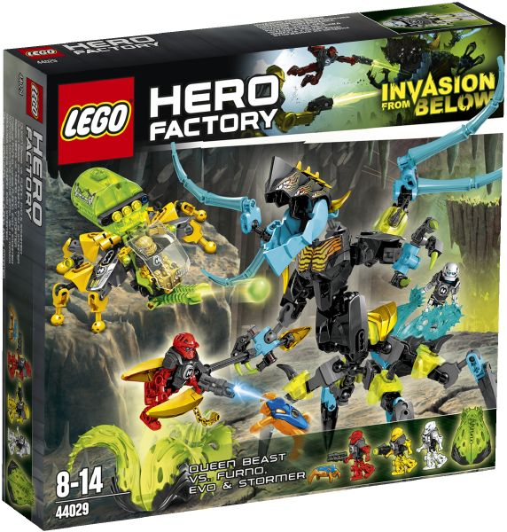LEGO Hero Factory 44029 Královna Monster versus Furno, Evo a Storm