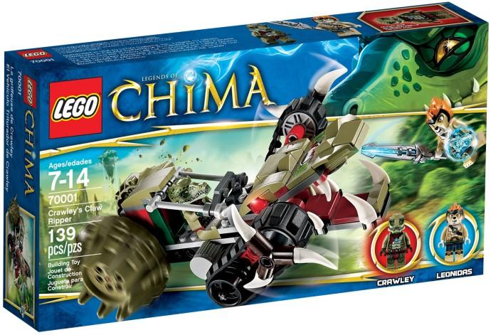 LEGO Chima 70001 Crawleyho rozparovač