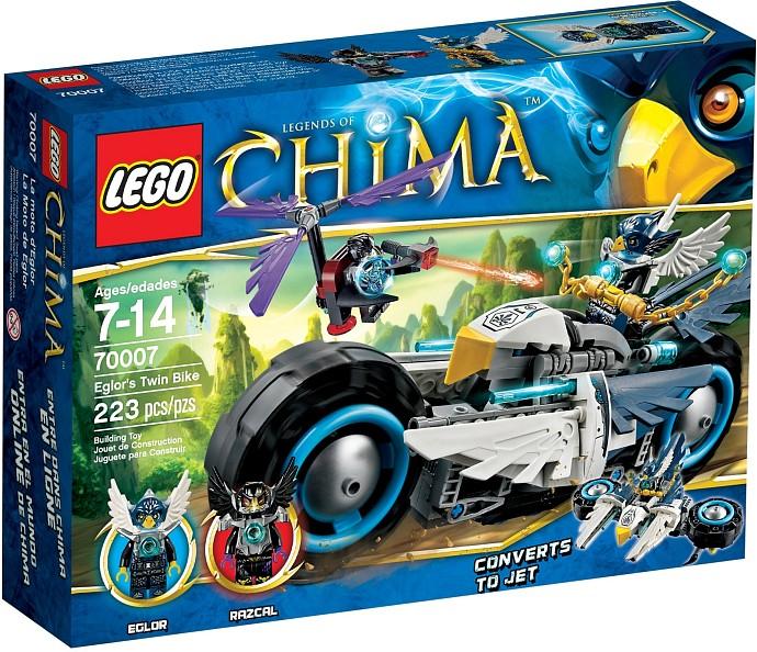 LEGO CHIMA 70007 Eglorova dvojkolka