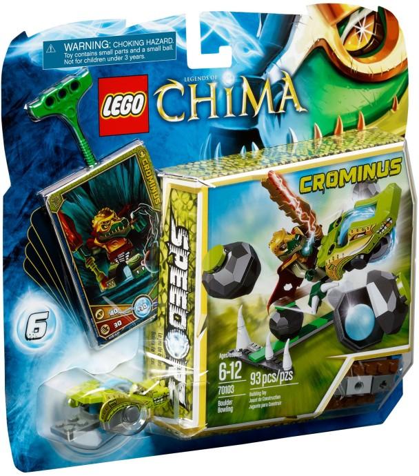 LEGO Chima 70103 Kamenný bowling