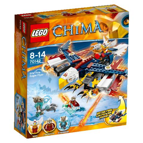 LEGO Chima 70142 - Erisino ohnivé orlí letadlo