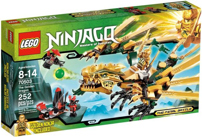 LEGO Ninjago 70503 Zlatý drak