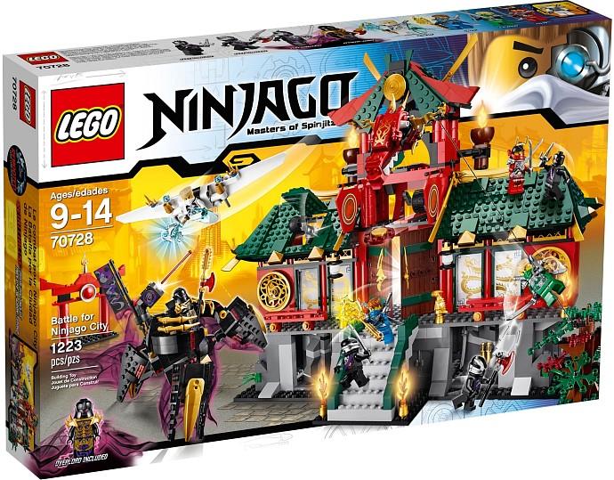 LEGO Ninjago 70728 Bitva o Ninjago City