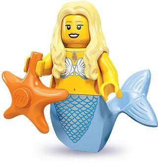LEGO 71000 Minifigurka 9. série - Mořská panna