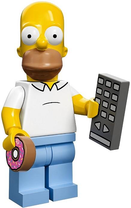 LEGO 71005 Minifigurka - Homer Simpson