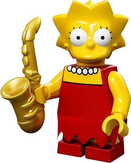 LEGO 71005 Minifigurka - Lisa Simpson