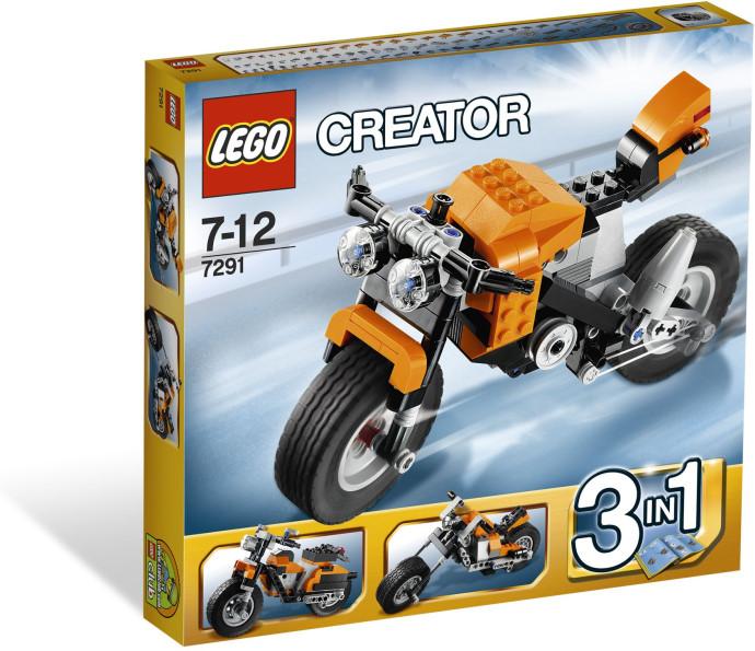 Lego 7291 Creator Silniční rebel