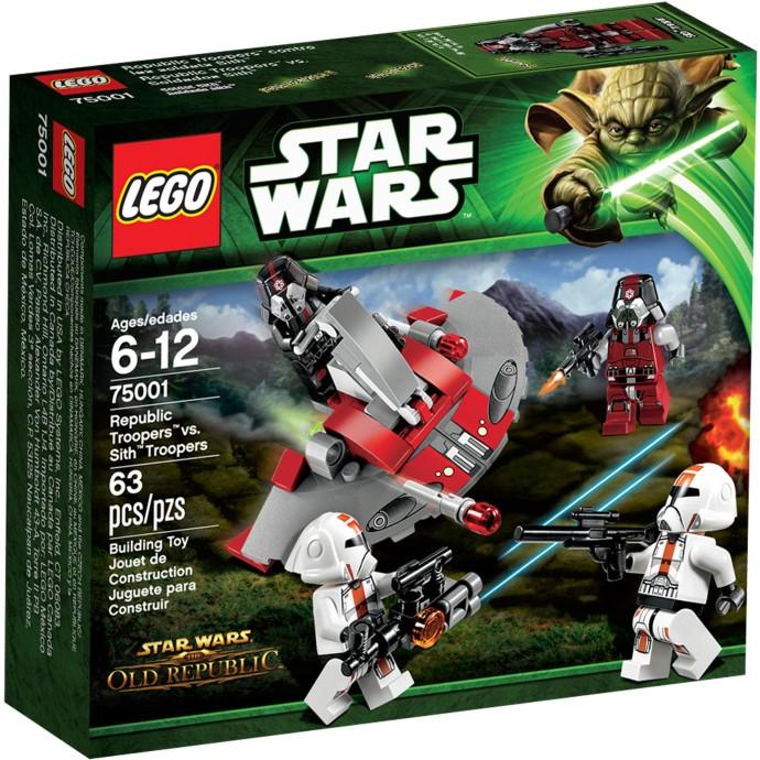LEGO Star Wars 75001 Republic Troopers vs Sith Trooper