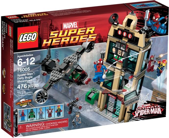 LEGO Super Heroes Spider-Man 76005 - Zúčtování Daily Bugle