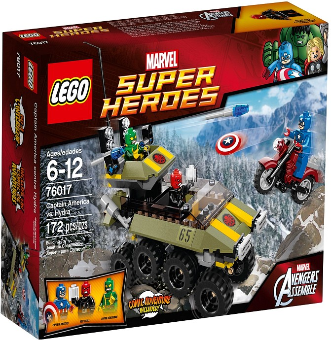 LEGO Super Heroes 76017 - Captain America vs Hydra
